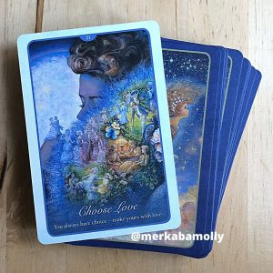 Choose Love from Whispers of Love oracle cards