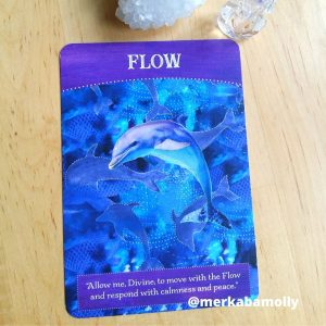 Flow from Divine Abundance oracle