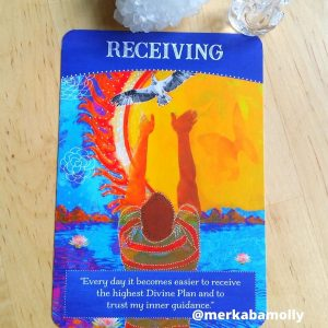 Receiving from Divine Abundance oracle