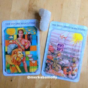Divine Masculine & Distorted Masculine True Love Reading Cards