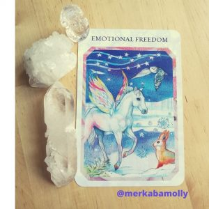 Ascension Heart Awakening: Emotional freedom is indicated by this card from the True Love Reading Cards