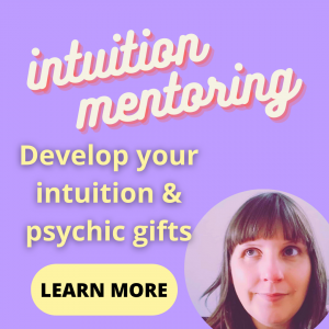 mentoring intuition & psychic gifts